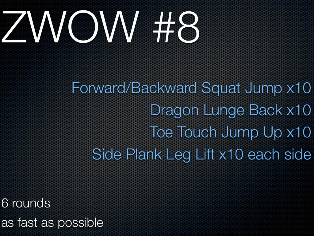 "Daily Sweat! ZWOW #8 & ""Slimming"" Yoga | airplanesandtreadmills"