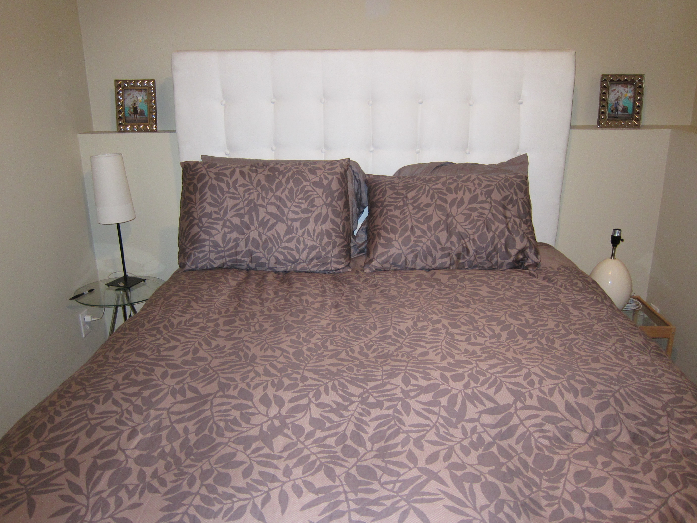 DIY: Upholstered Bed, The Finished Product - Passport to Wanderlust
