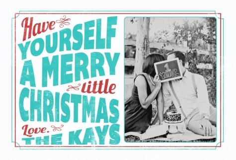Kay Christmas Card 2012 2