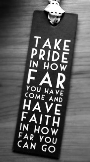 Take Pride In