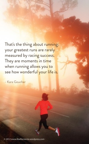 Kara Goucher Quote