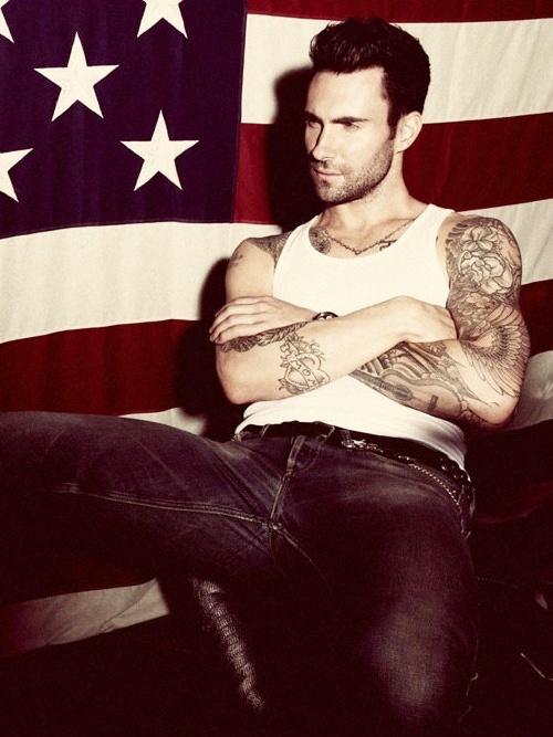 Adam Levine + USA