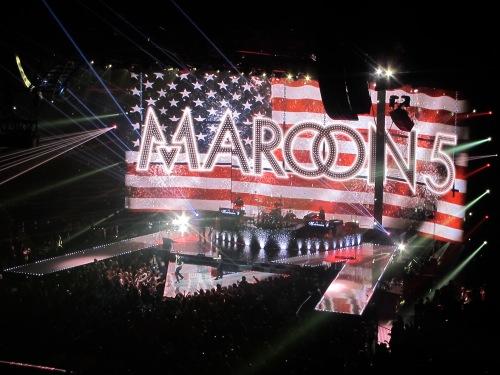 Maroon 5, American Flag