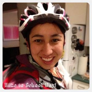 Wake up, bike to school day