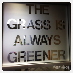 The Grass is Always Greener, USA