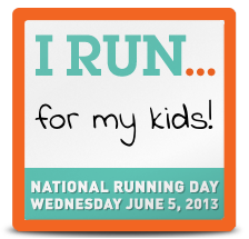 I run for my students!