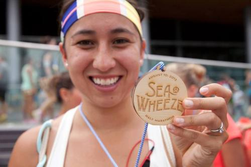 SeaWheeze - 2013 - Race Medal - Half Marathon