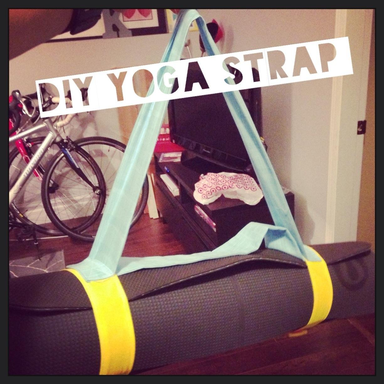 diy yoga strap