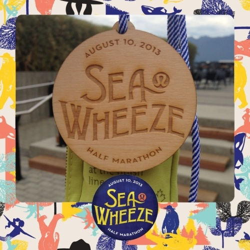 SeaWheeze - Medal - 2013