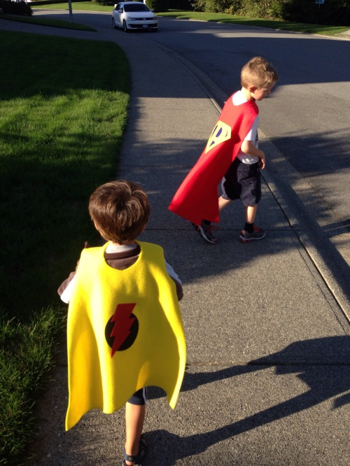 superhero cape diy