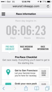 Nike Women's Marathon Countdown