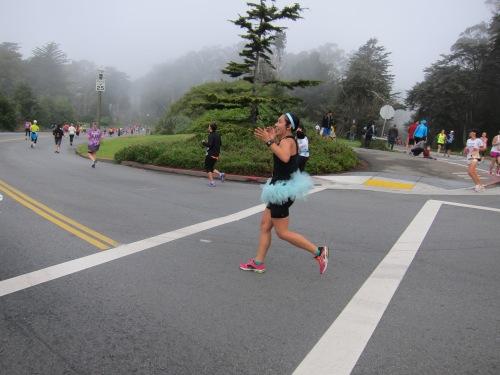 Nike Women's Marathon, Mile 15