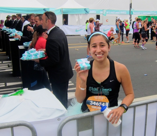 Nike Women's Marathon, Finish Line, Tiffany's