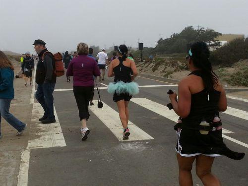 Nike Women's Marathon, Mile 23