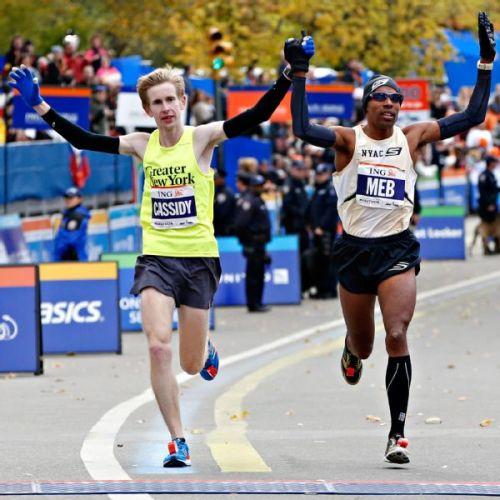 NYC Marathon Meb