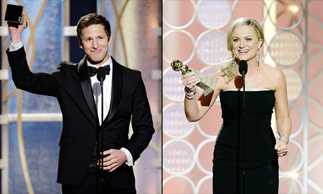andy-samberg-amy-poehler-golden globes 2014