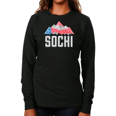USA Ladies Peak Long Sleeve, Sochi, 2014