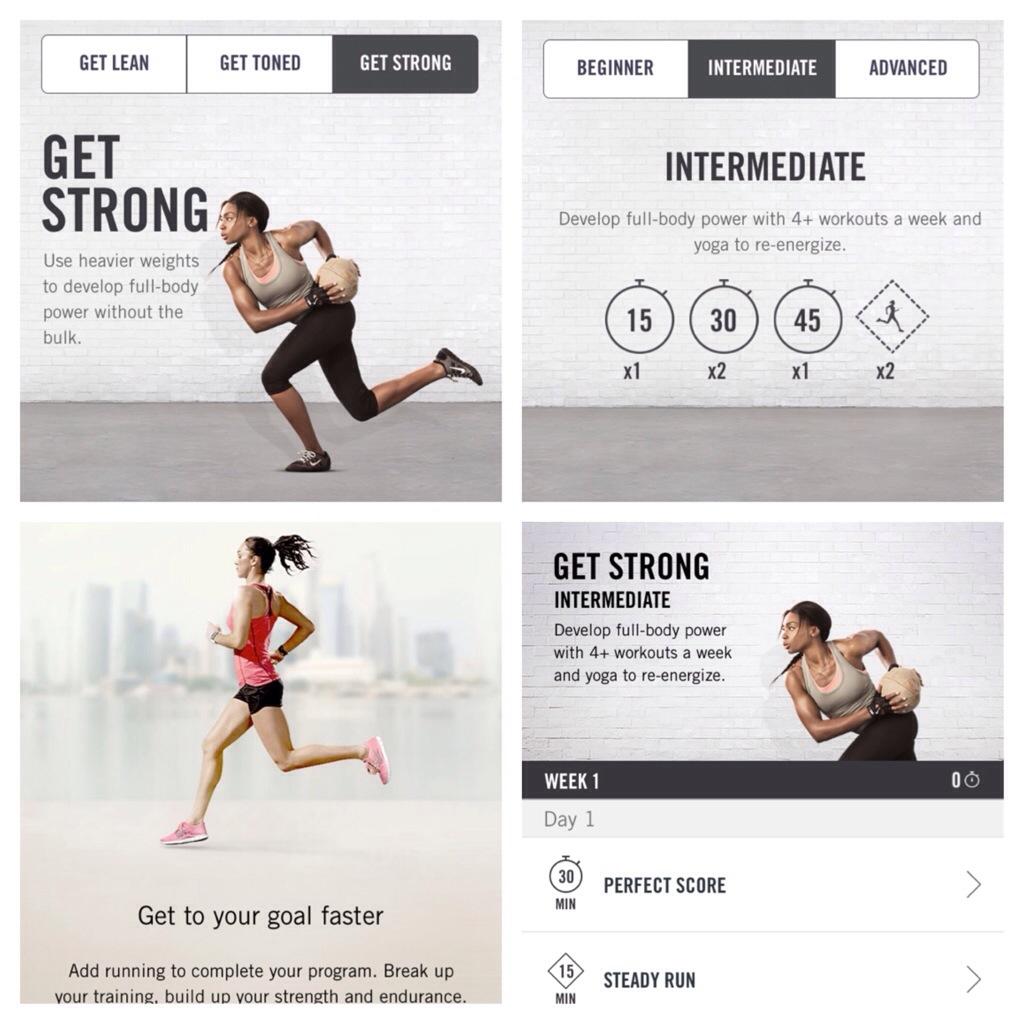 #NTCfit, Nike Training Club program