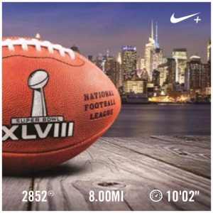 Super Bowl Sunday Pre-Game Run, Nike Running, Nike Women