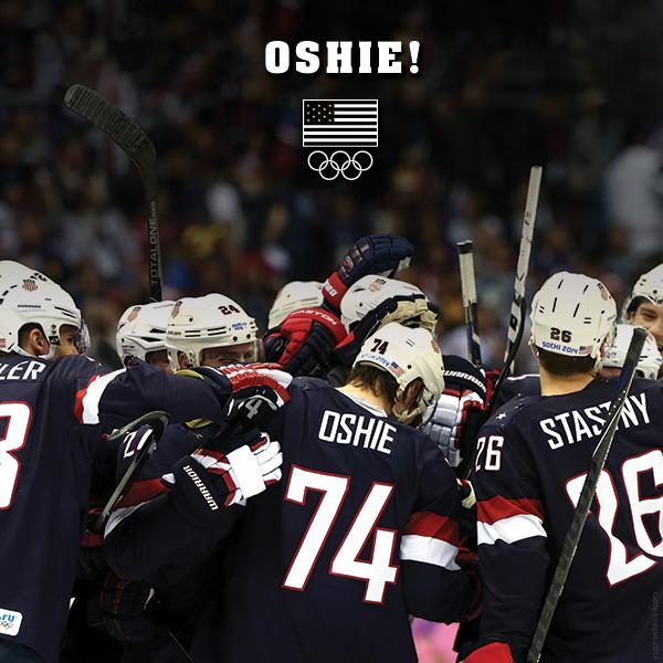 Oshie, Team USA