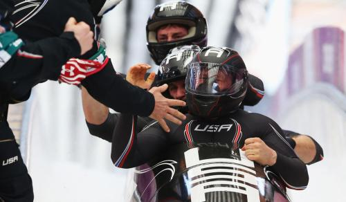 Bobsleigh - Winter Olympics Day 16