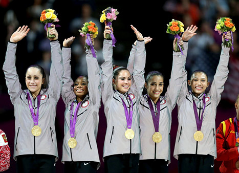 Team USA 2012 Gymnastics