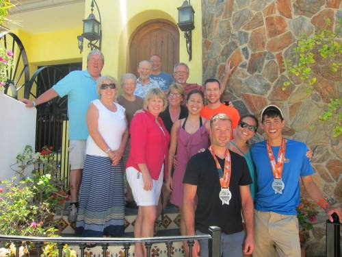 Ironman Cabo - Family Picture