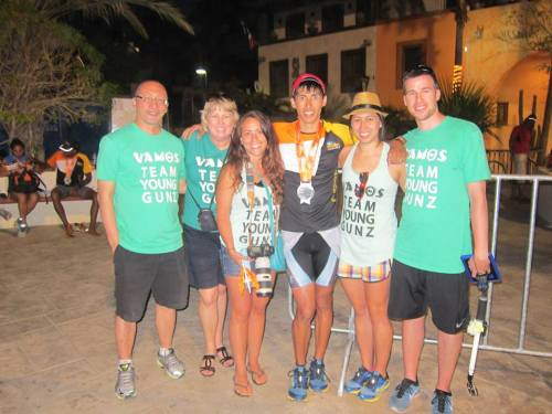 Ironman Cabo - Post Race - The Family